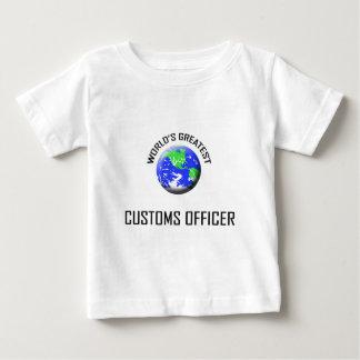World's Greatest Customs Officer T Shirt