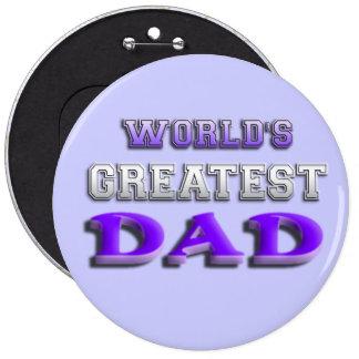 World's Greatest Dad Pin