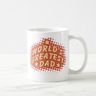 World's greatest dad classic white coffee mug
