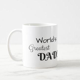 World's Greatest Dad Coffee Cup! Coffee Mug