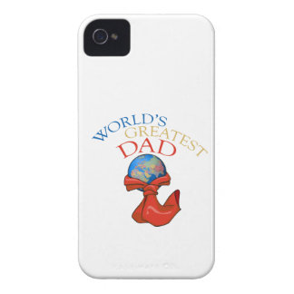 World's Greatest Dad iPhone 4/4S Case-Mate B.T. iPhone 4 Case-Mate Cases