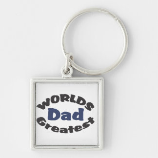 World's Greatest Dad keychain