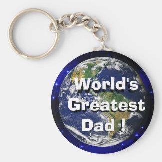 World's Greatest Dad! Keychain