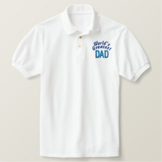 World's Greatest Dad Polos