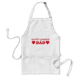 WORLDS GREATEST DAD STANDARD APRON