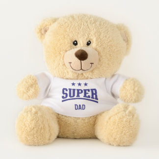 Worlds Greatest Dad Super Teddy Bear