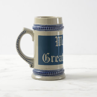 World's Greatest Dad Template Stein 18 Oz Beer Stein