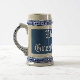 World's Greatest Dad Template Stein 18 Oz Beer Stein