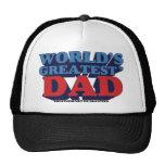 World's Greatest* Dad Trucker Hat