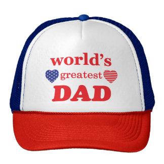 WORLDS GREATEST DAD TRUCKER HAT