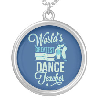 World's Greatest Dance Teacher Necklace