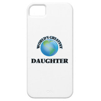 World's Greatest Daughter iPhone 5 Cases