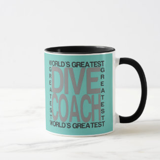 Worlds Greatest Dive Coach Mug