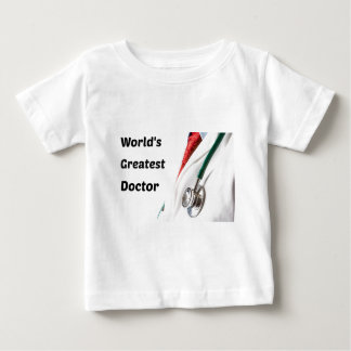 World's Greatest Doctor Design Baby T-Shirt