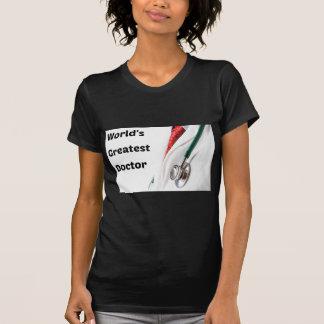 World's Greatest Doctor Design T-Shirt