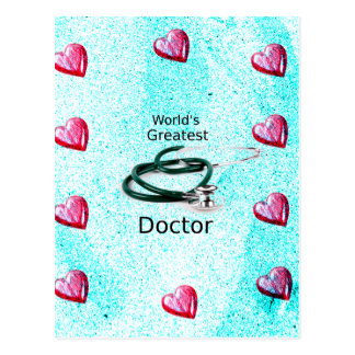 World's Greatest Doctor Professions Collection Postcard