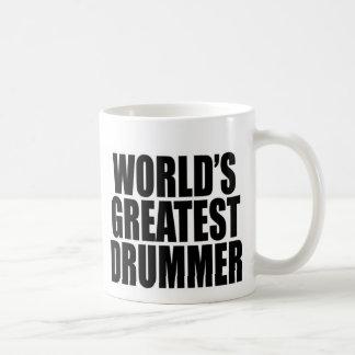 World's Greatest Drummer Classic White Coffee Mug