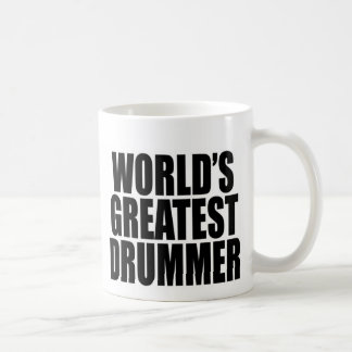 World's Greatest Drummer Coffee Mug
