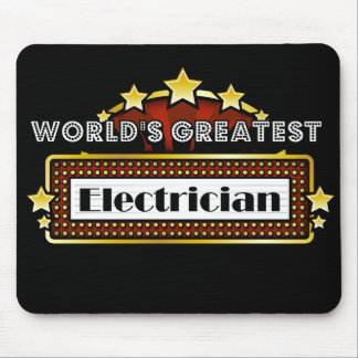 World's Greatest Electrician Mouse Pad