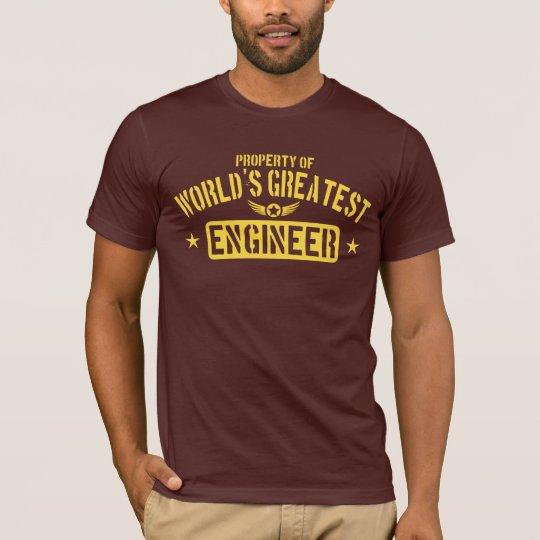 World's Greatest Engineer T-Shirt