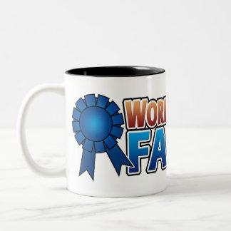 World's Greatest Famer Two-Tone Coffee Mug
