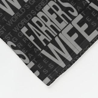 Worlds Greatest Farriers Wife Fleece Blanket