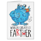 world's greatest farter! card