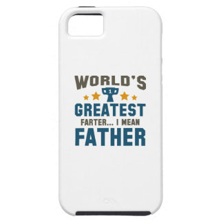 World's Greatest Farter iPhone 5 Cases
