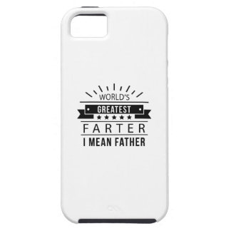 World's Greatest Farter iPhone 5 Cover