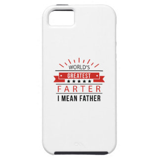 World's Greatest Farter iPhone 5 Covers
