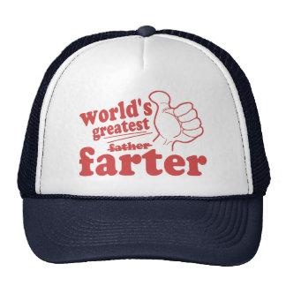 World's Greatest Farter Trucker Hat