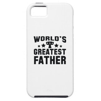 World's Greatest Father iPhone 5 Cases