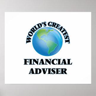 World's Greatest Financial Adviser Poster