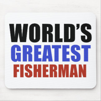 World's greatest FISHERMAN Mouse Pad