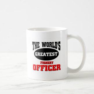 World's greatest Fishery Officer Coffee Mug