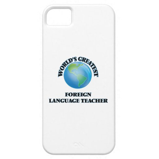 World's Greatest Foreign Language Teacher iPhone 5/5S Cover