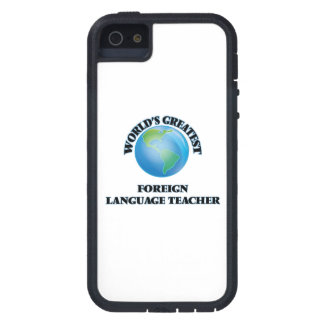 World's Greatest Foreign Language Teacher iPhone 5 Cover