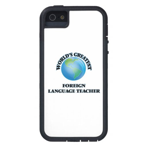 World's Greatest Foreign Language Teacher iPhone 5 Covers