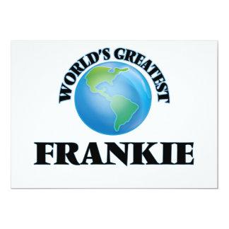 "World's Greatest Frankie 5"" X 7"" Invitation Card"