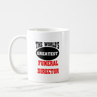 World's greatest funeral director, coffee mug