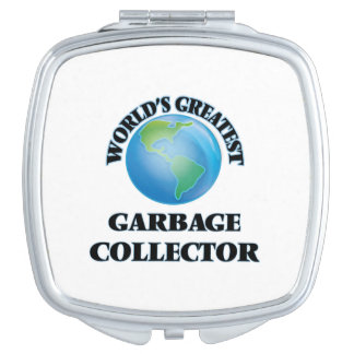 World's Greatest Garbage Collector Makeup Mirrors