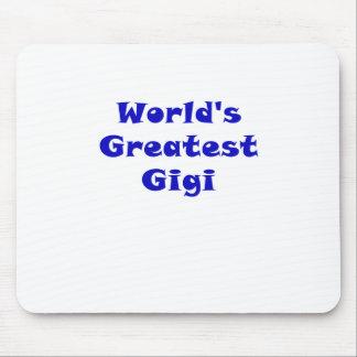 Worlds Greatest Gigi Mouse Pad
