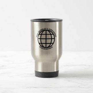 World's Greatest Godfather 15 Oz Stainless Steel Travel Mug