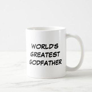"""World's Greatest Godfather"" Mug"
