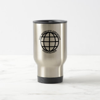 World's Greatest Godfather Stainless Steel Travel Mug