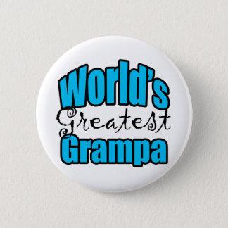 Worlds Greatest Grampa 2 Inch Round Button