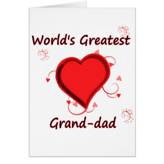 World's Greatest grand-dad Card
