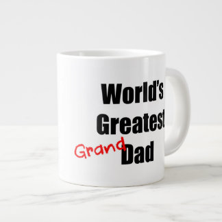 World's Greatest Grandad Large Coffee Mug