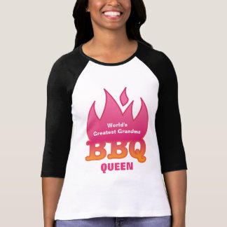 World's Greatest Grandma BBQ QUEEN Tshirt