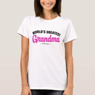 World's Greatest Grandma since - Personalize it! T-Shirt